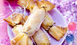 Bonbon de foie gras à la mangue
