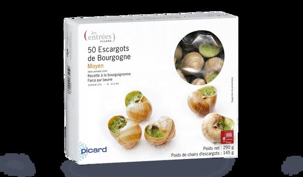 50 escargots moyens