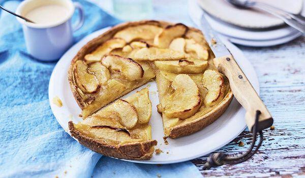 Tarte aux pommes bio, 6 parts
