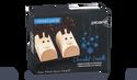 2 rennes glacés chocolat-vanille