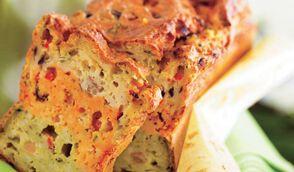 Cake de taboulé aux 3 légumes