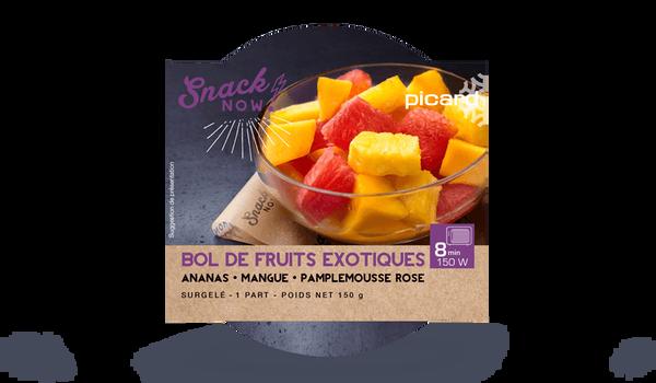 Bol de fruits exotiques