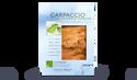 Carpaccio de saumon mariné