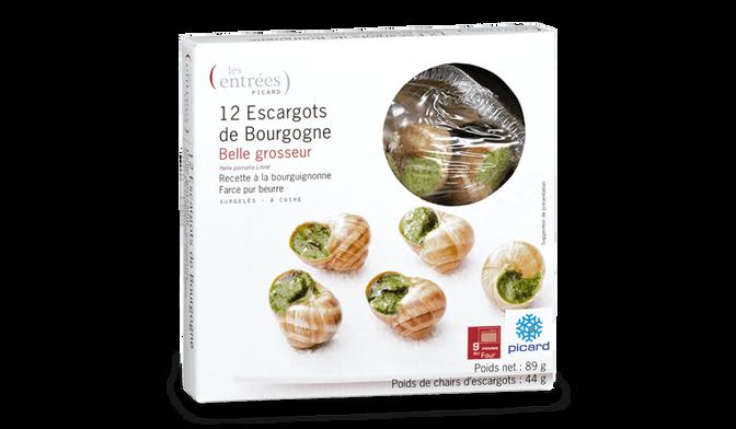 ESCARGOT BEL/GROSSEUR X12