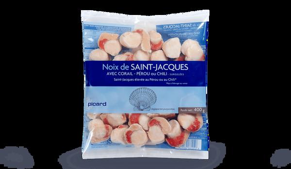 Noix St-Jacques Pérou ou Chili Argopecten a/corail