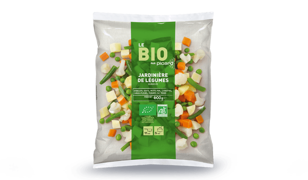 Jardinière de légumes bio, France ou Italie