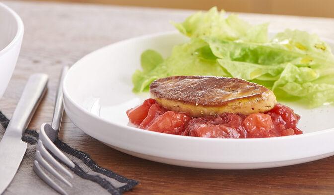 Cuire une escalope de foie gras