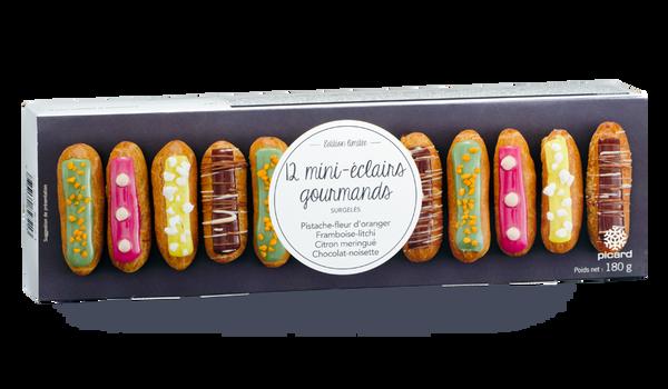 12 mini-éclairs gourmands