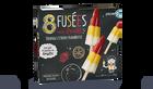 8 fusées sorbets orange, citron, framboise