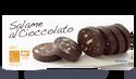 Salami au chocolat prétranché (11/12 tranches)