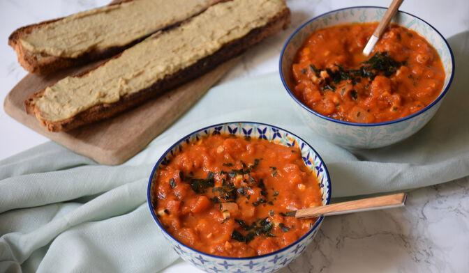 Soupe de tomate réconfortante par Anne-Sophie Vidal
