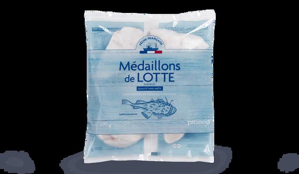 Médaillons de lotte Pêche française, sans arête