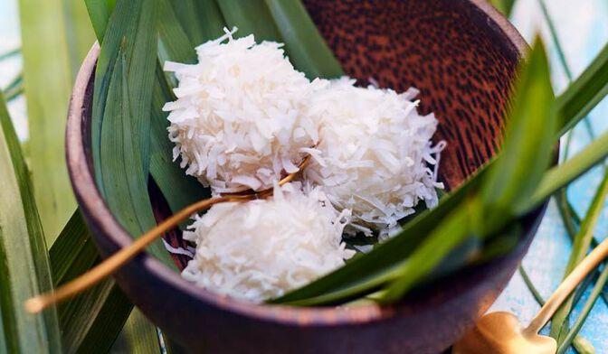 6 perles de coco