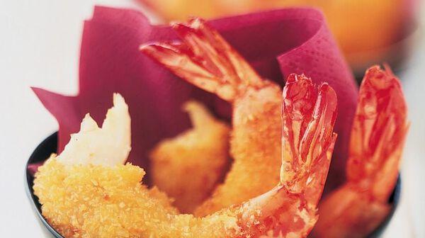 Tempura de crevettes