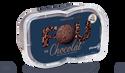Crème glacée chocolat avec pépites de chocolat