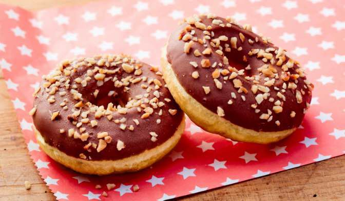 2 DONUTS CHOC/NOISETTE