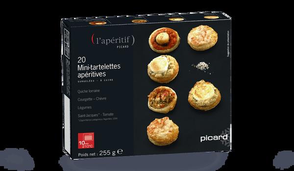 20 mini-tartelettes apéritives