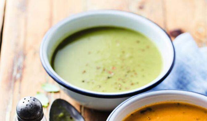 Velouté cuisiné haricot vert, chou-fleur, poireau bio