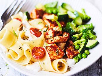 Potage mélange de légumes, portionnable