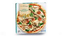 Pizza tomate, poulet, artichaut