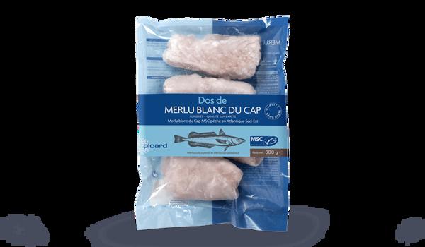 Dos de merlu blanc du Cap MSC (4 à 6 pièces)