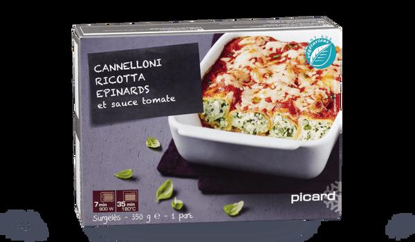 Cannelloni ricotta épinard et sauce tomate