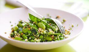 Salade végétarienne toute verte