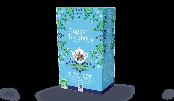 Thé blanc fleur de sureau myrtilles bio