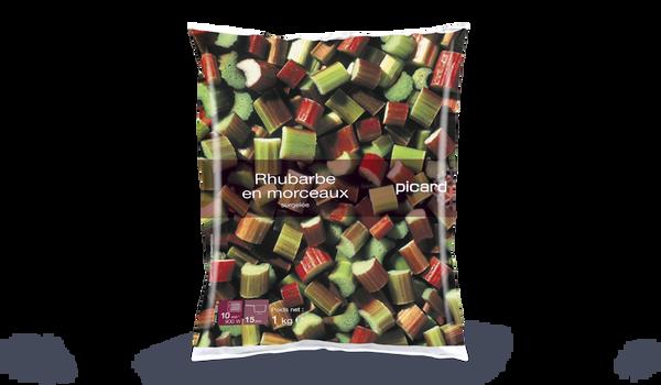 Rhubarbe en morceaux, Belgique