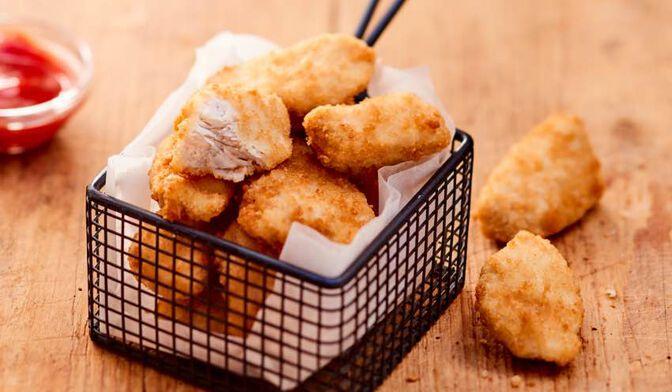 Bouchées de filet de poulet