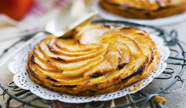 2 tartelettes fines aux pommes