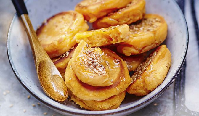 Gâteaux de patate douce