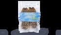 2 queues de langouste blanche, Caraïbes, crues