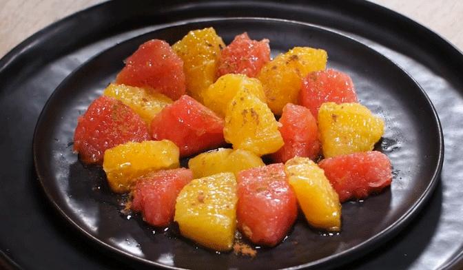 Salade d'agrumes à la marocaine