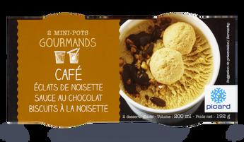 2 mini-pots café-noisette-chocolat