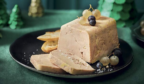 Le classique Terrine de foie gras de canard S-O