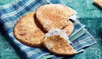 2 Naans, galettes de blé