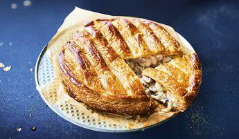 Tourte noix de Saint-Jacques et colin d'Alaska