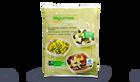 3 mélanges de légumes vapeur courgettes, tomates cerise, oignons/petits pois, carottes/ brocolis