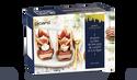 2 écorces au bloc de foie gras de canard, figue