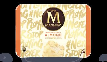 4 Magnum white almond