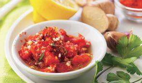Sauce chien à la tomate
