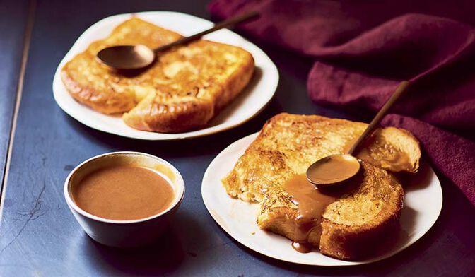 2 brioches façon pain perdu