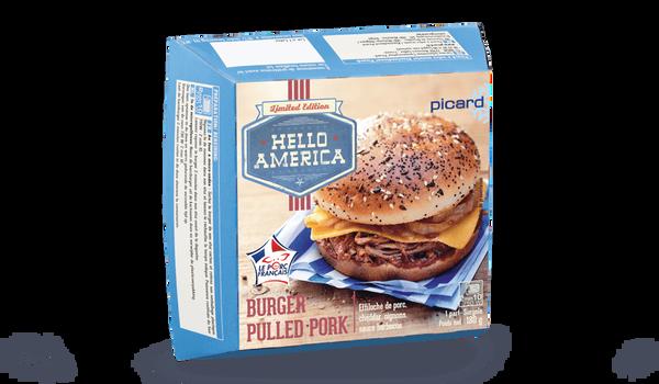 Burger pulled pork
