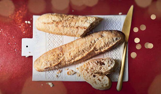 2 petites baguettes du fournil