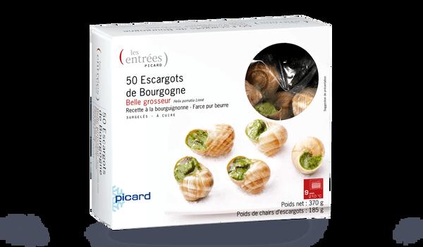 50 escargots belle grosseur