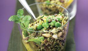 Taboulé aux légumes frais et secs