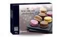 12 macarons,citron-spéculos-fruits rouges-chocolat