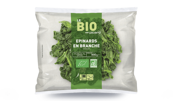 Epinards en branches bio