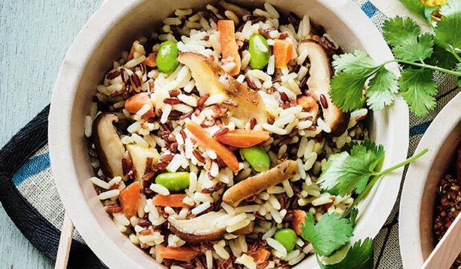 Céréales à l'asiatique